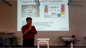 What does IETF do?
